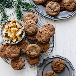 Soft and Chewy Ginger Cookies.