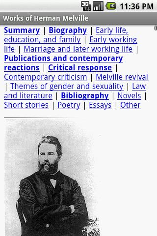 Works of Herman Melville- screenshot