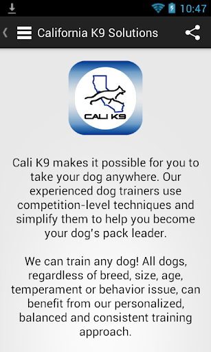 California K9