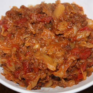 Slow Cooker Low Carb Cabbage Roll Stew.
