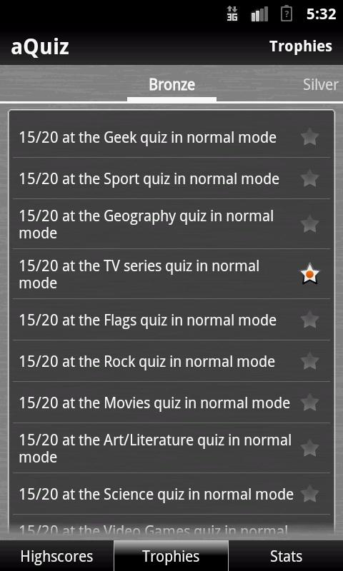 aQuiz - Trivia Quiz - screenshot
