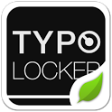 Typo Black GO Locker Theme icon
