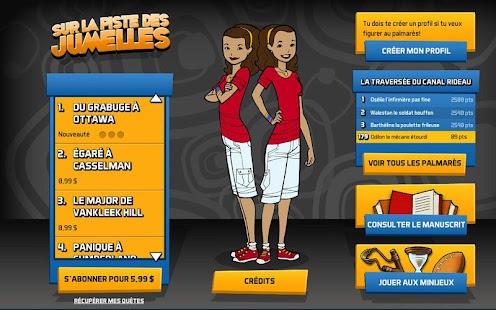 Sur la piste des Jumelles - screenshot thumbnail