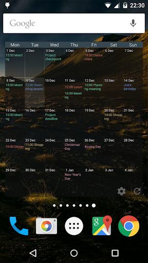 Touch Calendar Free  screenshots 6