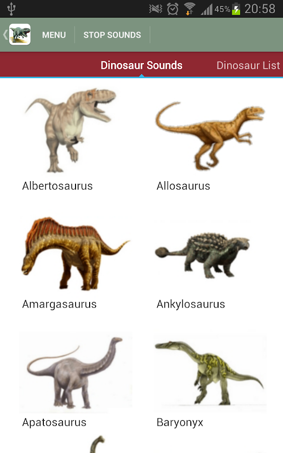 Dinosaurs That Start With The Letter E