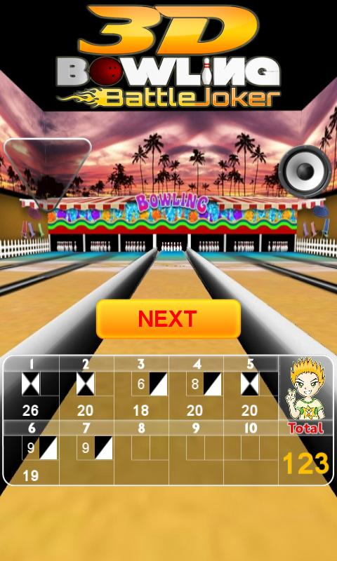 3D Bowling Battle Joker - screenshot