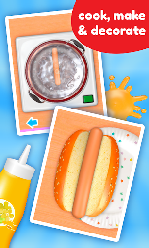 Cooking Game - Hot Dog Deluxe  screenshots 4