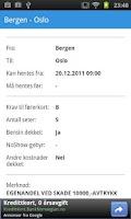 Screenshot of Bilretur Norge