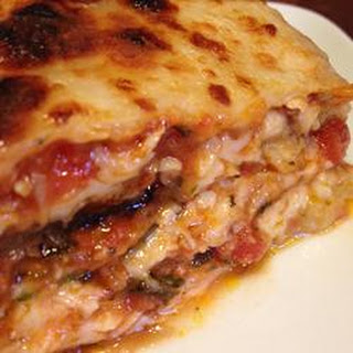 Jewish Eggplant Lasagna.