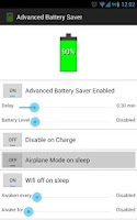 Screenshot of Advanced Battery Saver