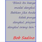 DP Kata Bijak Bob Sadino