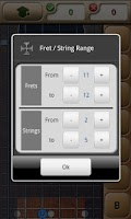 Screenshot of Music Tutor Fret Master