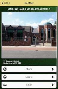 Markazi Jamia Mosque Wakefield screenshot 1