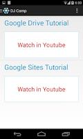 Screenshot of D.J. Sanghvi Google Portal