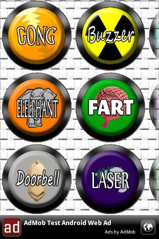 Free Big Button Soundboard - screenshot