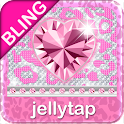BLING Theme Pink Leopard SMS ♦ icon