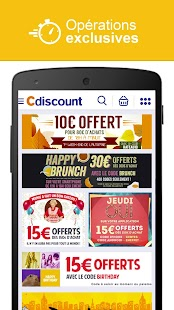 Cdiscount - Shopping mobile - screenshot thumbnail