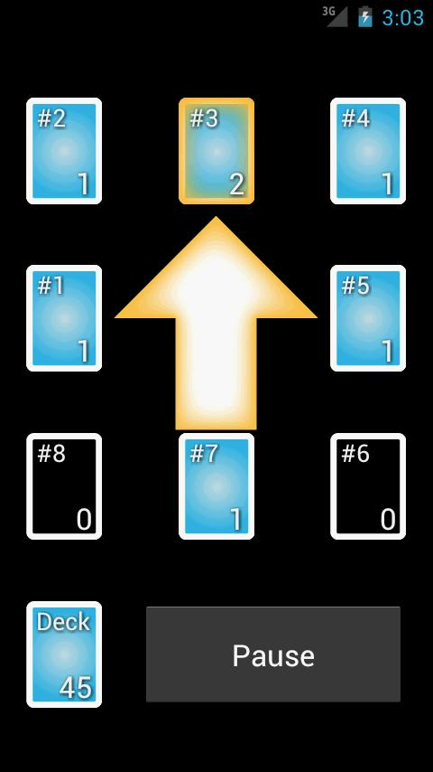 Divide & Conquer Card Shuffler - screenshot