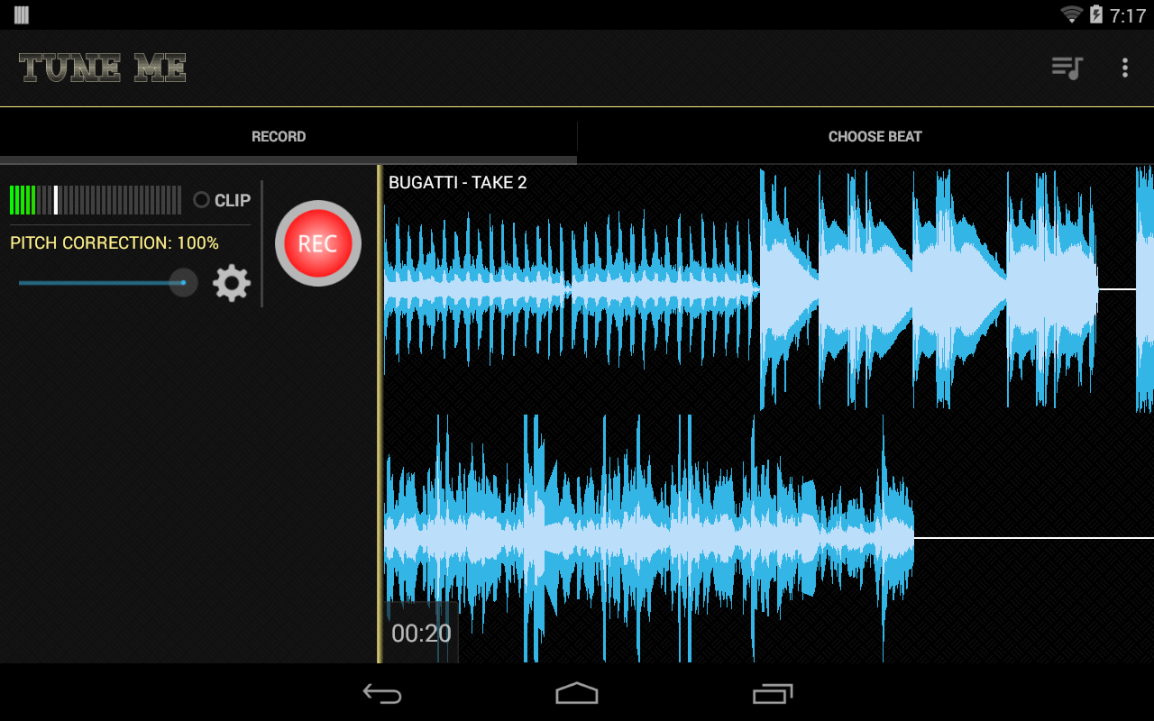 Tune Me Pro ★ Key - screenshot