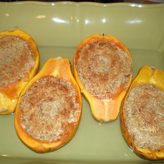 Chef Wally's Baked Papaya
