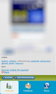 Swedish Dictionary Free - screenshot thumbnail