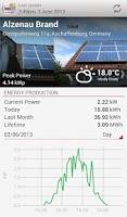 Screenshot of SolarEdge Monitoring
