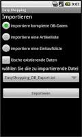 Screenshot of EasyShopping