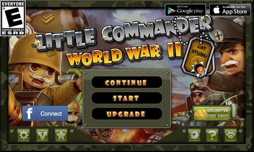 Little Commander - WWII TD 1.8.9 screenshots 11