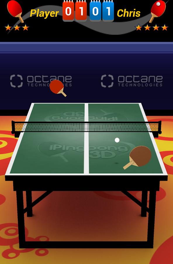 iPingpong 3D - screenshot