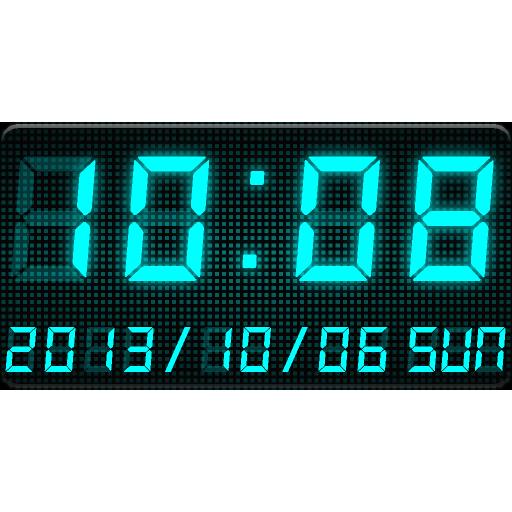 LED數字時鐘部件 C-Me Clock 個人化 App LOGO-硬是要APP