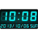 LED clock widget C-Me Clock