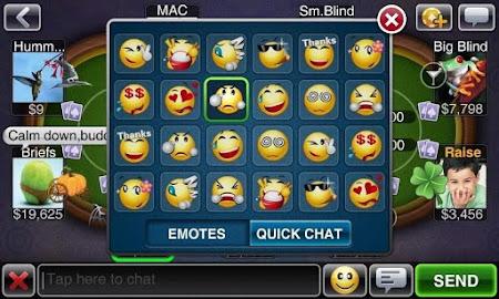 Texas HoldEm Poker Deluxe Pro 1.6.4 screenshot 7529