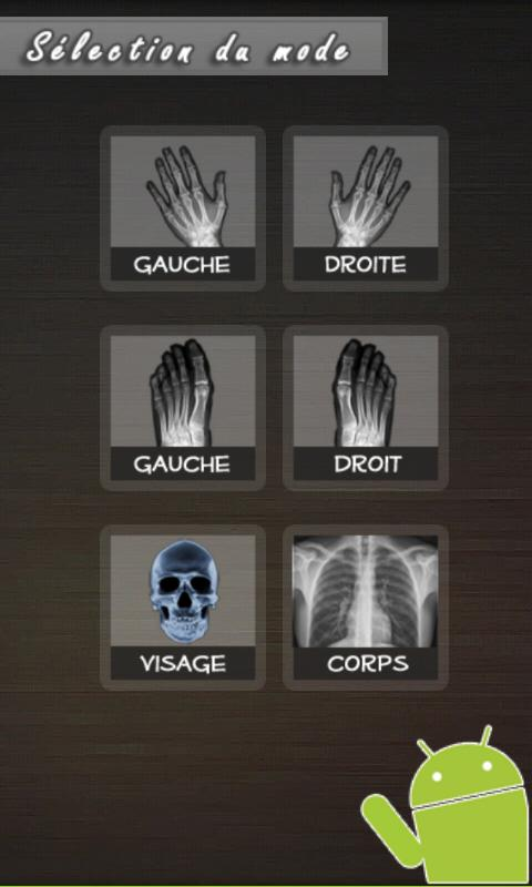 X-Ray Droid Scanner - screenshot