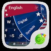 Soccer USA Keyboard Theme