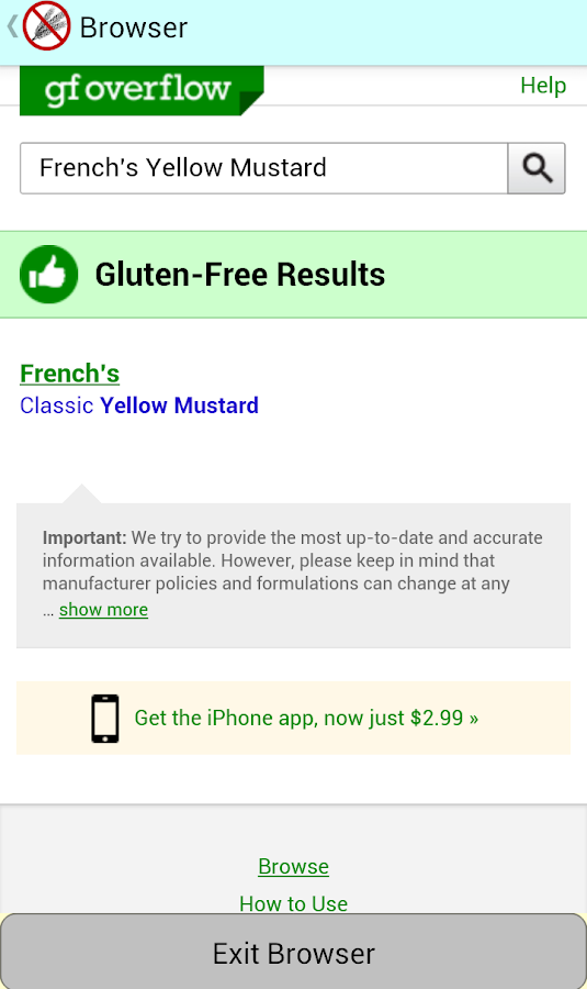 Is This Gluten-Free?- screenshot