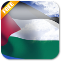 3D Palestine Flag LWP icon