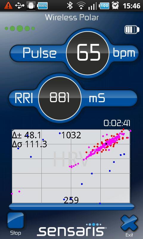 Mobicardio- screenshot