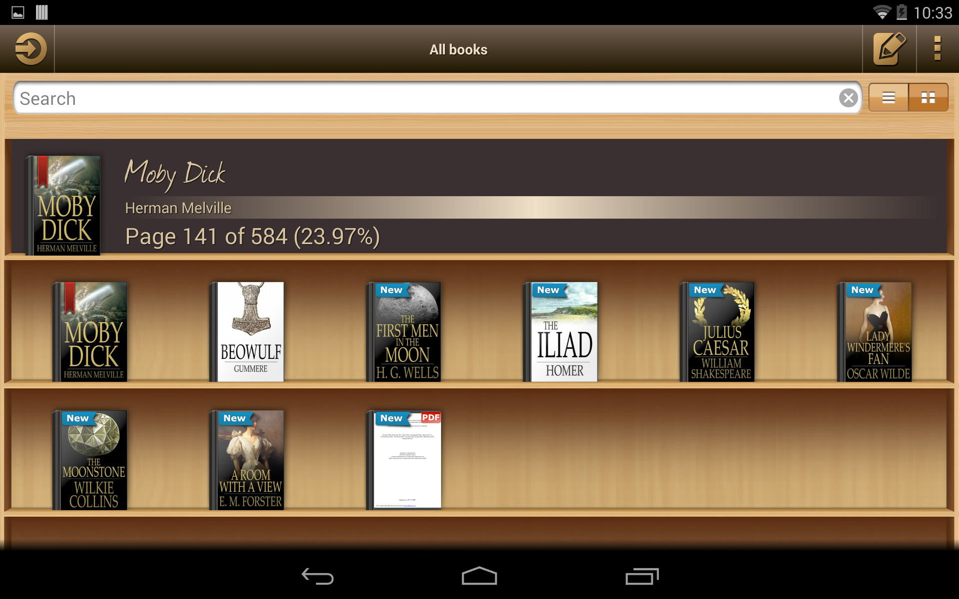 Ebook Reader screenshot #11
