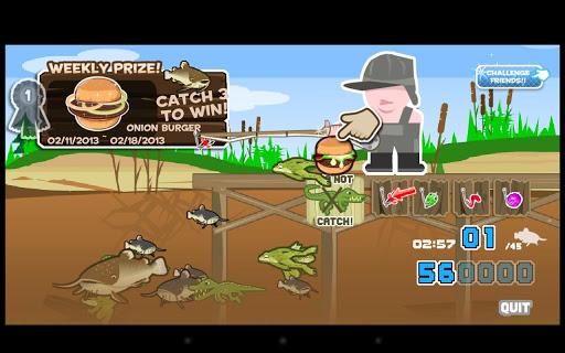 【免費街機App】Cat fish Fry Hillbilly Fishing-APP點子
