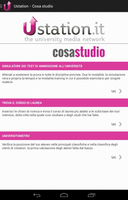 Cosa Studio- screenshot