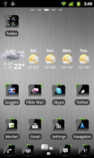 Go theme HD Crystal Black