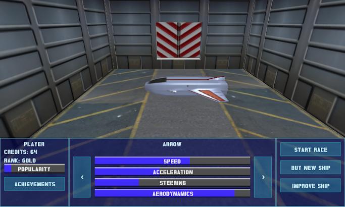 Space Racer 3D HD screenshot