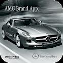 AMG Brand App English logo