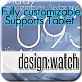 design:watch widget&clock