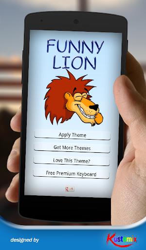 Funny Lion Keyboard
