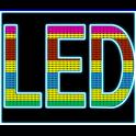 LED panneau d'affichage icon