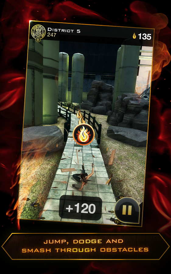 Hunger Games: Panem Run- screenshot