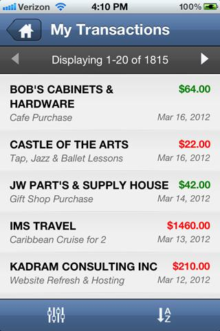 IMS Barter Mobile- screenshot