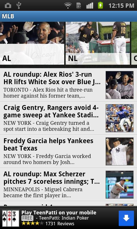 Boston Herald Sports - screenshot