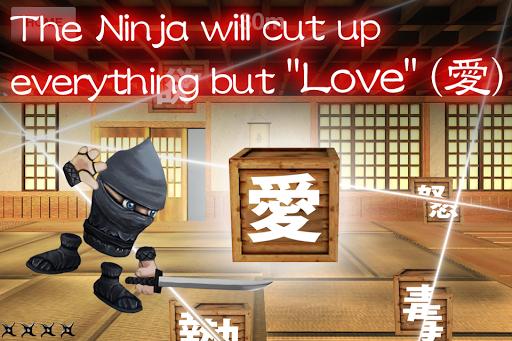 Ninja Never Cuts Up Love